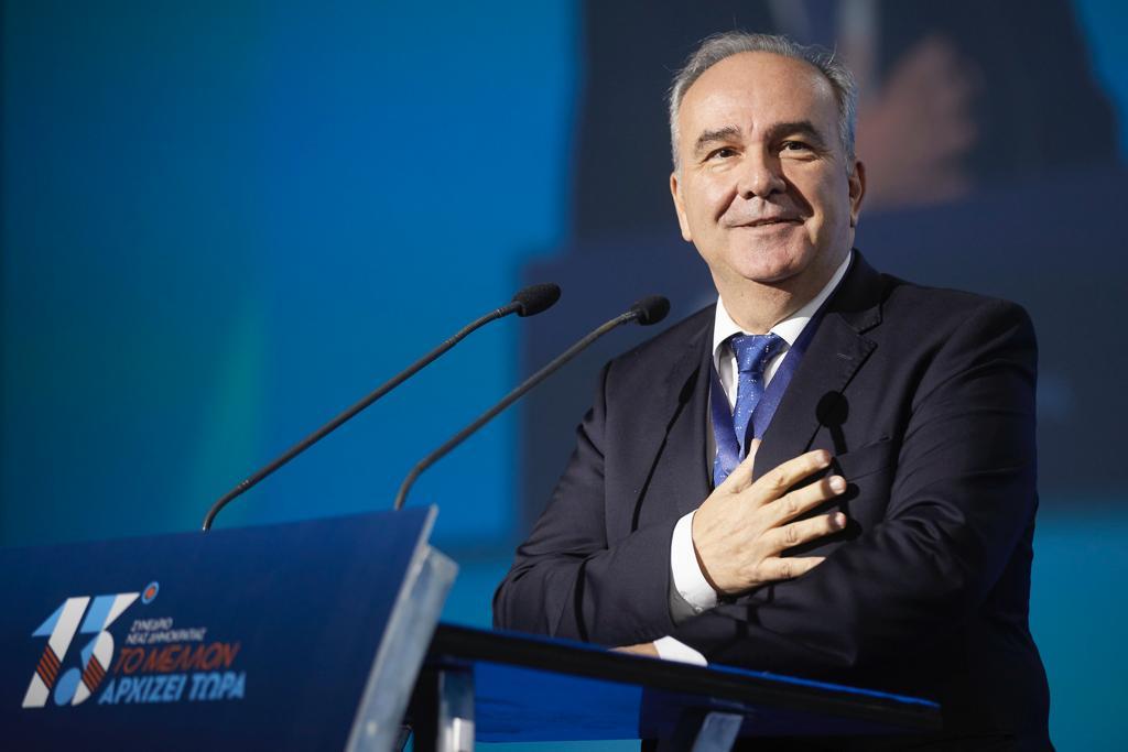 Η ομιλία του Υφυπουργού Ανάπτυξης και Επενδύσεων κ. Νίκου Παπαθανάση στο 13ο Συνέδριο της ΝΔ