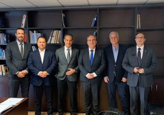 Συνάντηση του Υφυπουργού Ανάπτυξης και Επενδύσεων κ. Νίκου Παπαθανάση με τον Εμπορικό Σύλλογο Αθηνών