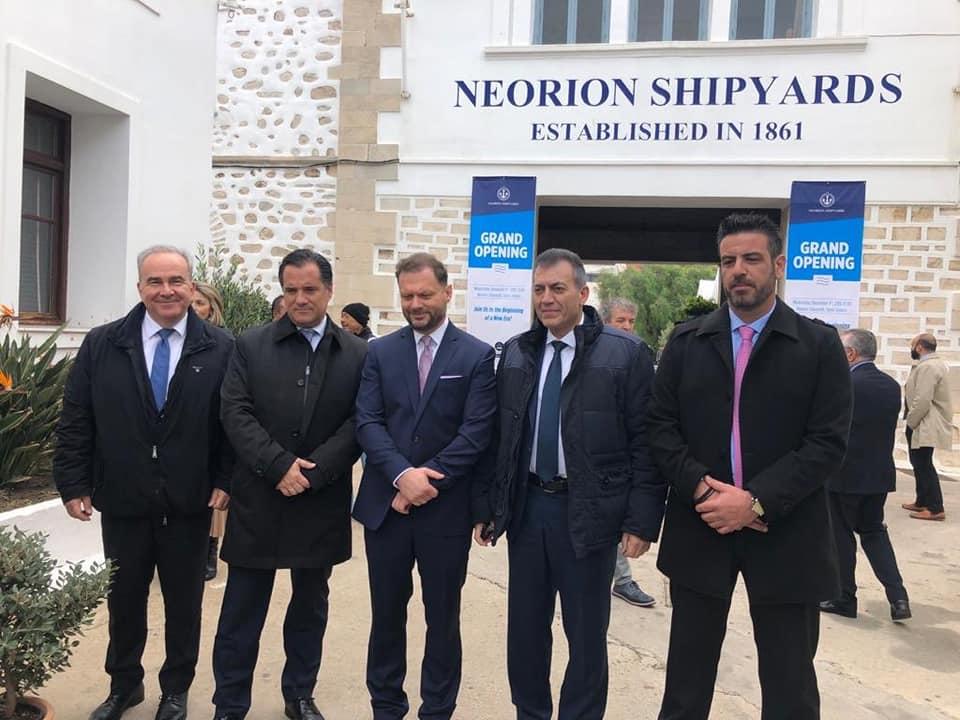 Μια νέα σελίδα για τη ναυπηγοεπισκευαστική μας βιομηχανία ξεκίνησε   στη Σύρο