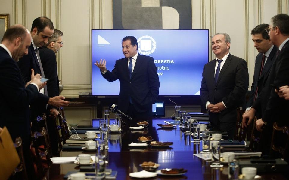 Απολογισμός Πρώτου Εξαμήνου Υπουργείου Ανάπτυξης και Επενδύσεων