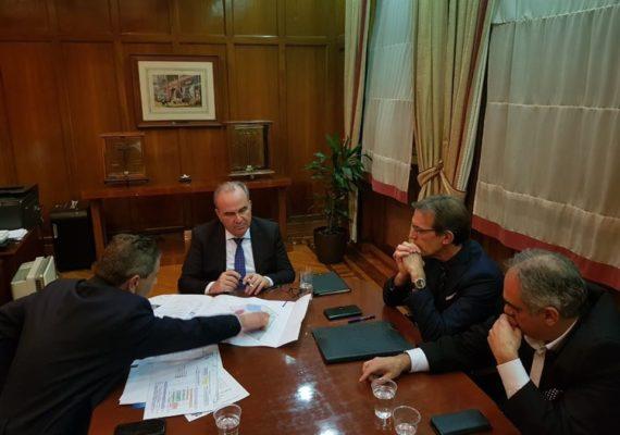 Συνάντηση Υφυπουργού Ανάπτυξης και Επενδύσεων, κ. Νίκου Παπαθανάση με την Διοίκηση της ΔΕΘ-HELEXPO
