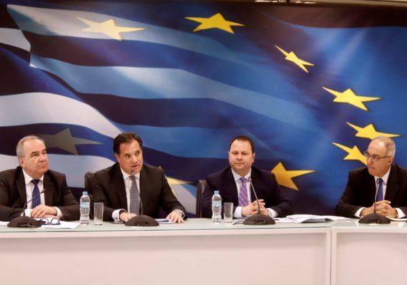 Συνέντευξη Τύπου πολιτικής ηγεσίας Υπουργείου Ανάπτυξης & Επενδύσεων για τα αποτελέσματα των δράσεων αντιμετώπισης του παρεμπορίου