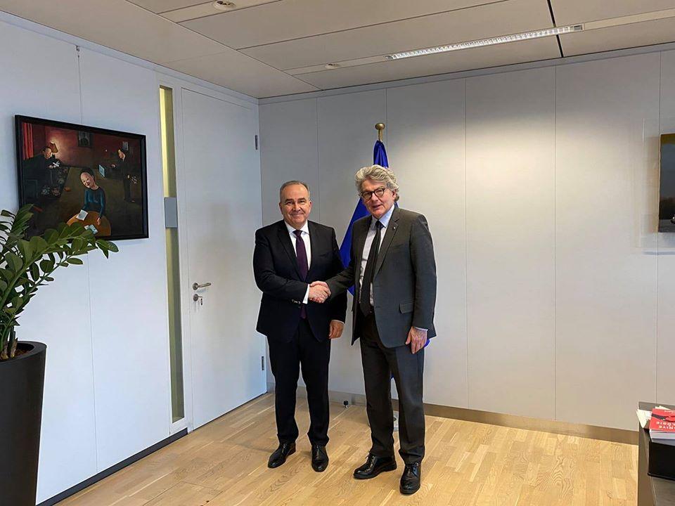 Ο Υφυπουργός Ανάπτυξης και Επενδύσεων, κ. Νίκος Παπαθανάσης, συμμετείχε στη Συνεδρίαση του Συμβουλίου Ανταγωνιστικότητας της Ευρωπαϊκής Ένωσης, στις Βρυξέλλες