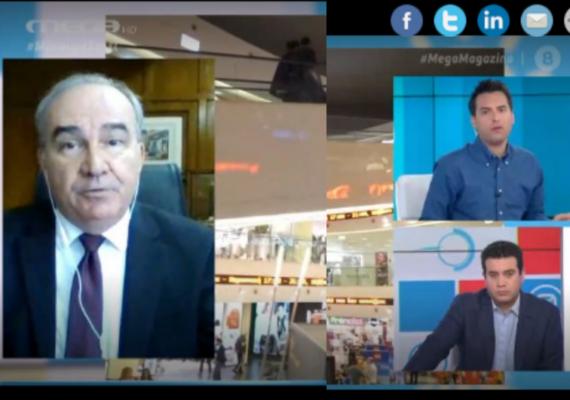 Σημεία συνέντευξης Υφυπουργού Ανάπτυξης & Επενδύσεων, κ. Νίκου Παπαθανάση στο MEGA