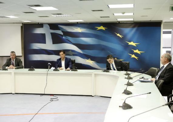 Συνέντευξη Τύπου της πολιτικής ηγεσίας του Υπουργείου Ανάπτυξης και Επενδύσεων