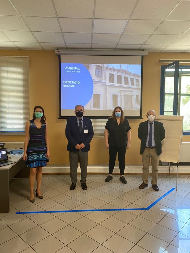 Επίσκεψη του Υφυπουργού Ανάπτυξης και Επενδύσεων κ. Νίκου Παπαθανάση στη Σοκολατοποιΐα Παυλίδης