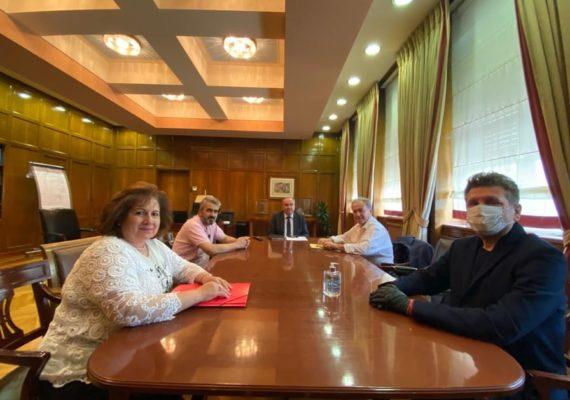 Συνάντηση Υφυπουργού Ανάπτυξης και Επενδύσεων, κ. Νίκου Παπαθανάση με την Ο.Σ.Υ.Ε