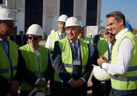 Έναρξη των πρόδρομων εργασιών στο Ελληνικό παρουσία του Πρωθυπουργού Κυριάκου Μητσοτάκη