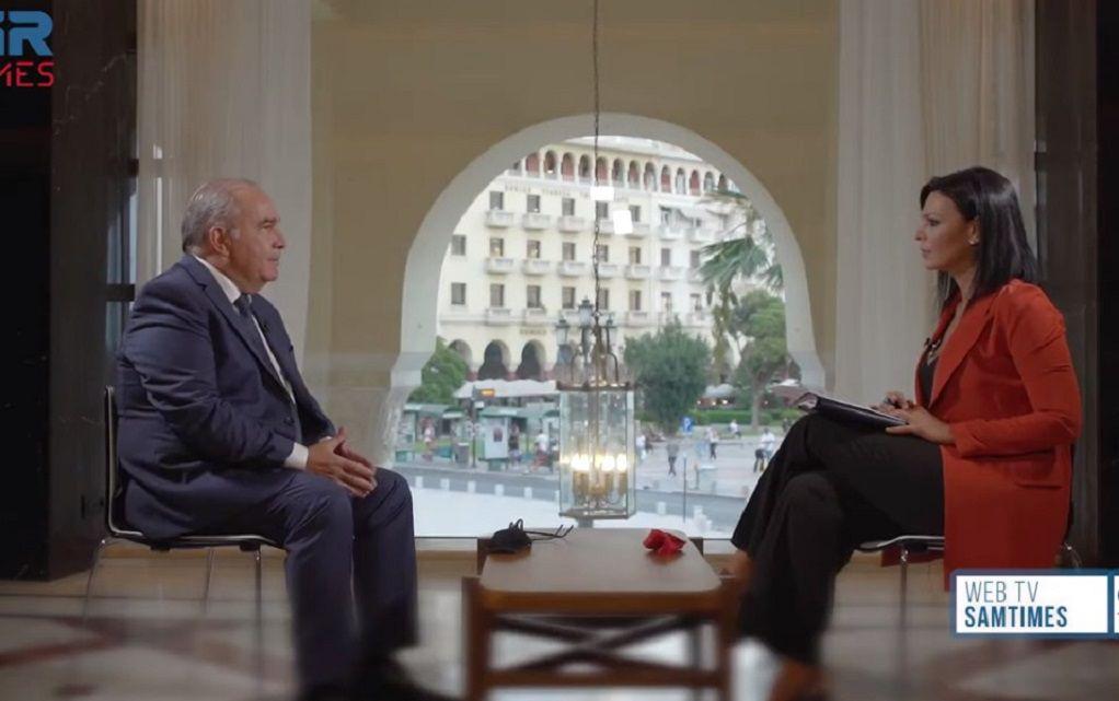 Συνέντευξη του Αναπληρωτή Υπουργού Ανάπτυξης & Επενδύσεων, κ. Νίκου Παπαθανάση στο GRtimes.gr και στη δημοσιογράφο κα Μαρία Σαμολαδά
