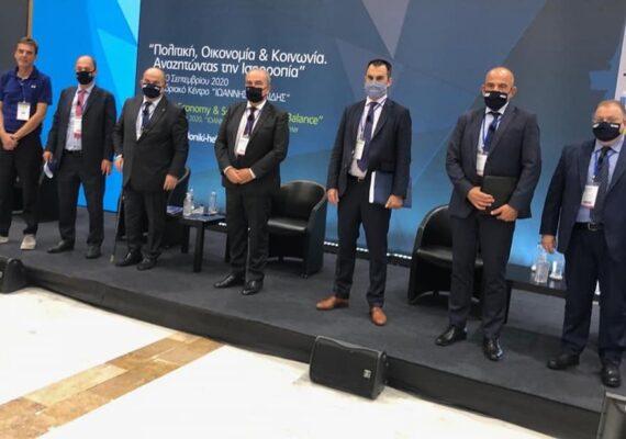 Thessaloniki Helexpo Forum: Ο Αναπληρωτής Υπουργός Ανάπτυξης και Επενδύσεων, κ. Νίκος Παπαθανάσης συμμετείχε σε πάνελ για τις Ιδιωτικές και Δημόσιες Επενδύσεις