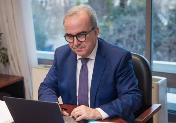 Ο Νίκος Παπαθανάσης, Αναπληρωτής Υπουργός Ανάπτυξης και Επενδύσεων, συμμετείχε στο 5ο Ελληνογερμανικό Οικονομικό Φόρουμ