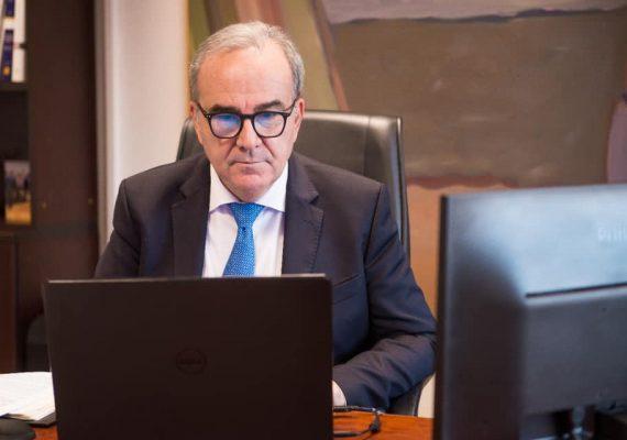 Ο Νίκος Παπαθανάσης, Αναπληρωτής Υπουργός Ανάπτυξης και Επενδύσεων, στην εναρκτήρια συνάντηση για το έργο: «Η Ελλάδα ως Logistic Hub Διεθνούς Βεληνεκούς»