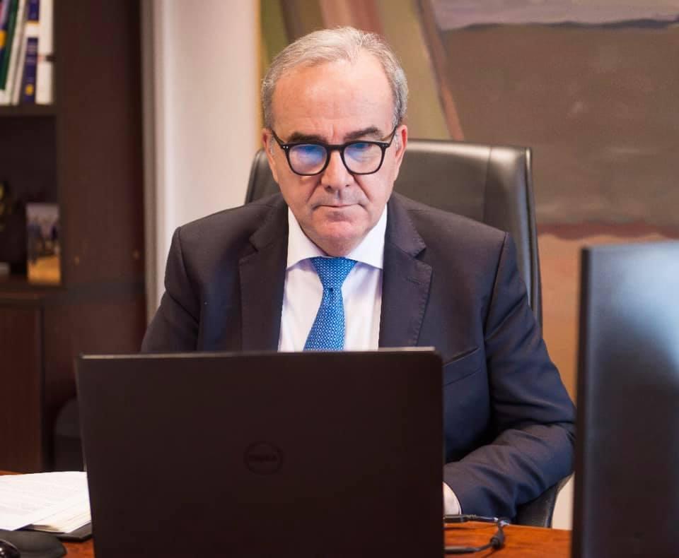 Ο Νίκος Παπαθανάσης, Αναπληρωτής Υπουργός Ανάπτυξης και Επενδύσεων, συμμετείχε στην Ετήσια Τακτική Γενική Συνέλευση του Πανελληνίου Συνδέσμου Βιομηχανίας Καλλυντικών
