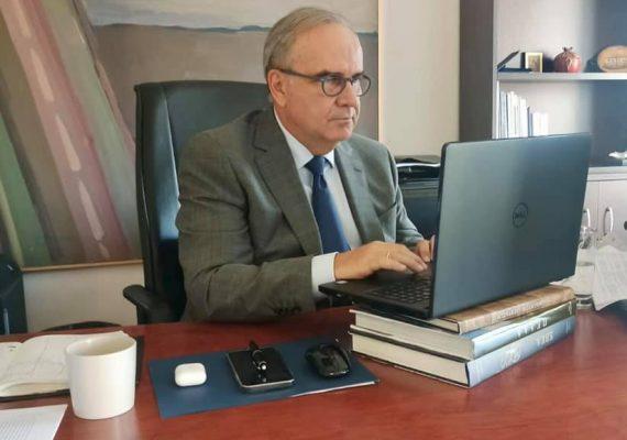 Ο Νίκος Παπαθανάσης, Αναπληρωτής Υπουργός Ανάπτυξης και Επενδύσεων, συμμετείχε στην συνεδρίαση του Διοικητικού Συμβουλίου ΣΕΒΕ – Σύνδεσμος Εξαγωγέων