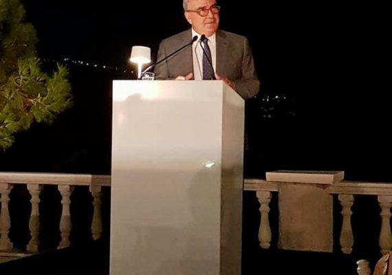 Ο Νίκος Παπαθανάσης, Αναπληρωτής Υπουργός Ανάπτυξης και Επενδύσεων, κεντρικός ομιλητής σε δείπνο προς τιμήν της Παγκόσμιας Διακοινοβουλευτικής Ένωσης Ελληνισμού
