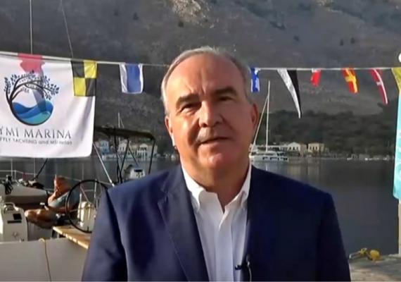 Ο Νίκος Παπαθανάσης, Αναπληρωτής Υπουργός Ανάπτυξης και Επενδύσεων, στην ΕΡΤ