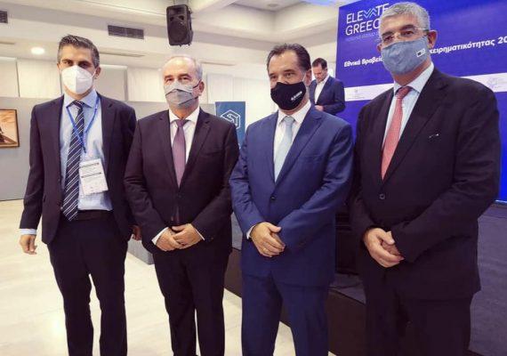 """Ανακοινώθηκαν οι νικητές στα """"Εθνικά Βραβεία Νεοφυούς Επιχειρηματικότητας"""" Elevate Greece παρουσία του Πρωθυπουργού"""