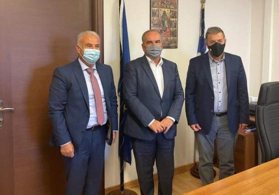 Ο Νίκος Παπαθανάσης, Αναπληρωτής Υπουργός Ανάπτυξης και Επενδύσεων, επισκέφθηκε το Δημαρχείο Αμυνταίου και το Ορυχείο της περιοχής