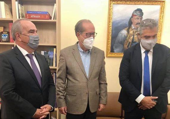 Ο Νίκος Παπαθανάσης, Αναπληρωτής Υπουργός Ανάπτυξης και Επενδύσεων στην Τρίπολη
