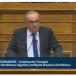 Ο Νίκος Παπαθανάσης, Αναπληρωτής Υπουργός Ανάπτυξης και Επενδύσεων, στη Διαρκή Επιτροπή Παραγωγής & Εμπορίου